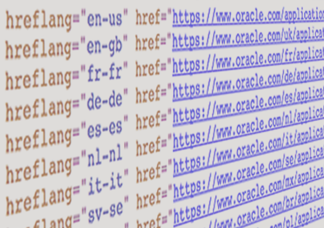 Dynamic href-lang tags enabled international sites to be found by Google upon translation.